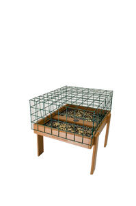 EcoTough Ground Tray with On-Guard Cage